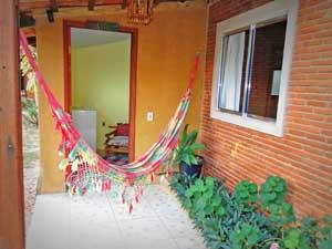 Suites com varanda e rede